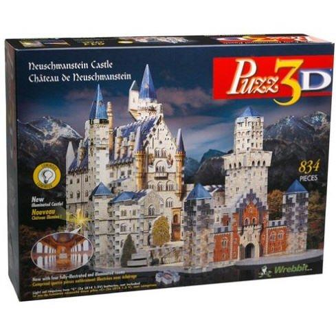 Puzz 3D Neuschwanstein Castle Puzzle 836 pieces