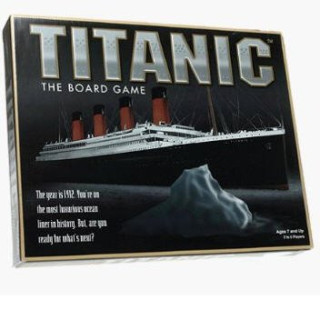 Titanic, The Board Game by Universal games 1998