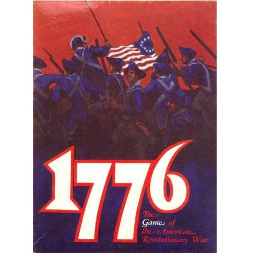 1776 The game of the american revolutionary War by Avalon Hill 1974