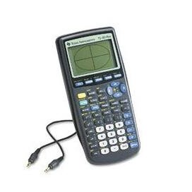 Texas Instruments TI-83 Plus Graphing Calculator with Book & cable