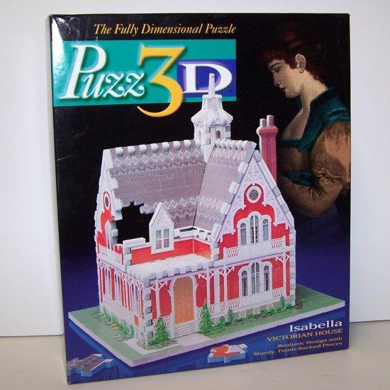 Puzz 3D Isabella Victorian House Puzzle 225 pieces