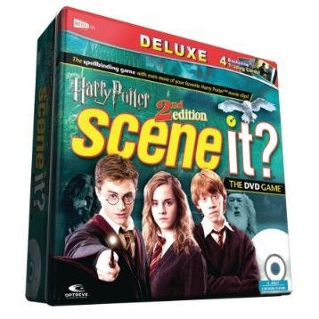 Scene It? Deluxe Harry Potter 2nd Edition DVD Game in collectors tin