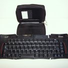 STOWAWAY PORTABLE KEYBOARD TARGUS PA820 in LEATHER CASE
