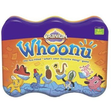 Cranium Whoonu What's your Favorite thing? game