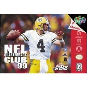 NFL Quarterback Club 99  Nintendo 64 Game Cartridge