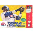 Triple Play 2000  Nintendo 64 Game Cartridge