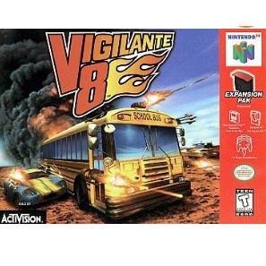Vigilante 8: 2nd Offense by Activision Inc.   N64 Nintendo 64