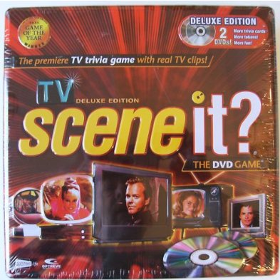 TV DELUXE EDITION OF SCENE IT?  2 DVD GAME in Collectible Tin