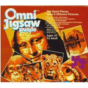 Omni Jigsaw Puzzle Worlds Toughest puzzle 6 in 1