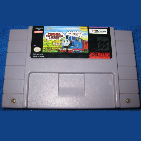 Thomas the Tank Engine & Friends by THQ Super Nintendo game