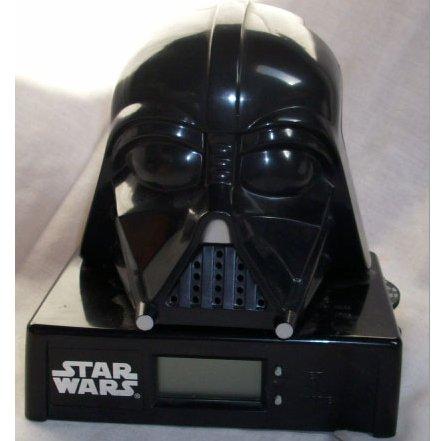 Star Wars Darth Vader Am/Fm Clock Radio