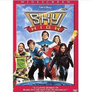 SKY HIGH WALT DISNEY DVD