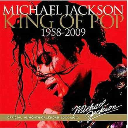 SEALED Michael Jackson 2009-2010 Official Wall Calendar