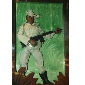 "12"" GI Joe Australian O.D.F. African American Action Figure  1996 Hasbro"