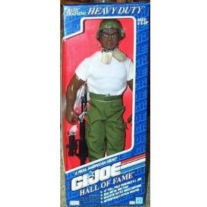 "1992 G.I. Joe Basic Training Heavy Duty 12"" Action Figure Hall of Fame (A real American Hero)"