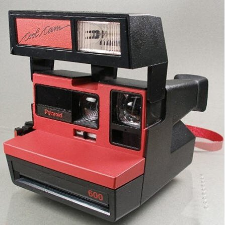Polaroid Cool Cam Instant 600 Film Camera with Matching bag
