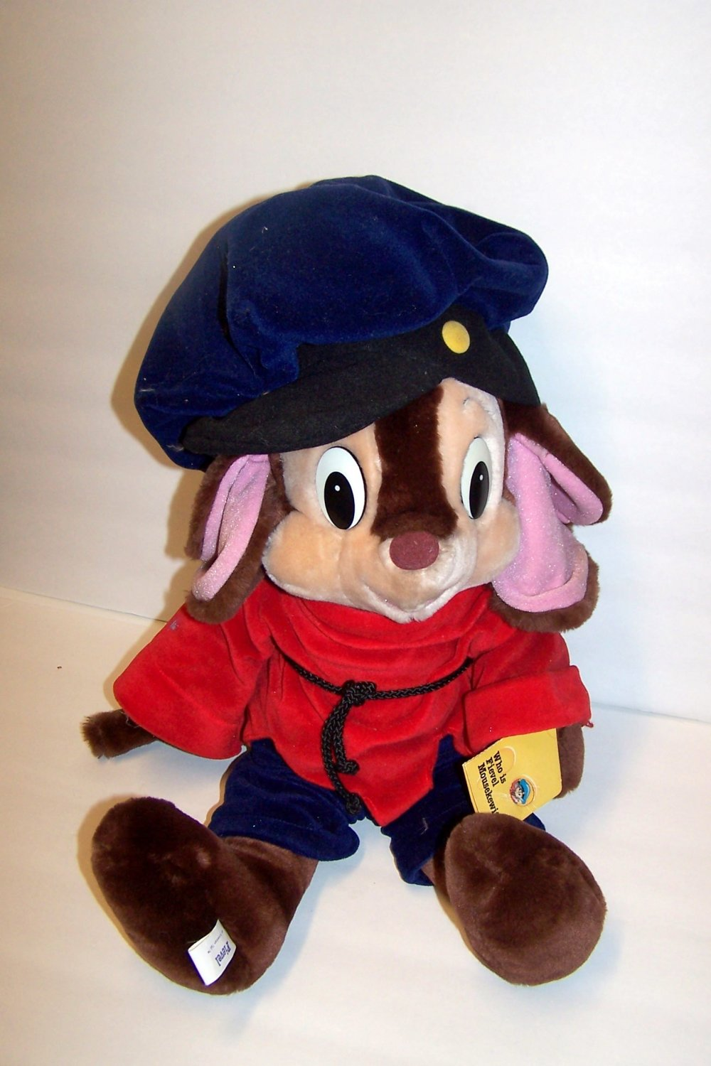 "Vintage An American Tail 18"" Plush Fievel by Sears"