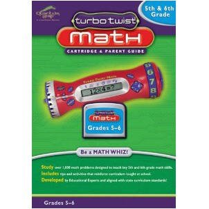 Turbo Twist Math: 5th and 6th Grade Math - Cartridge and Parents Guide