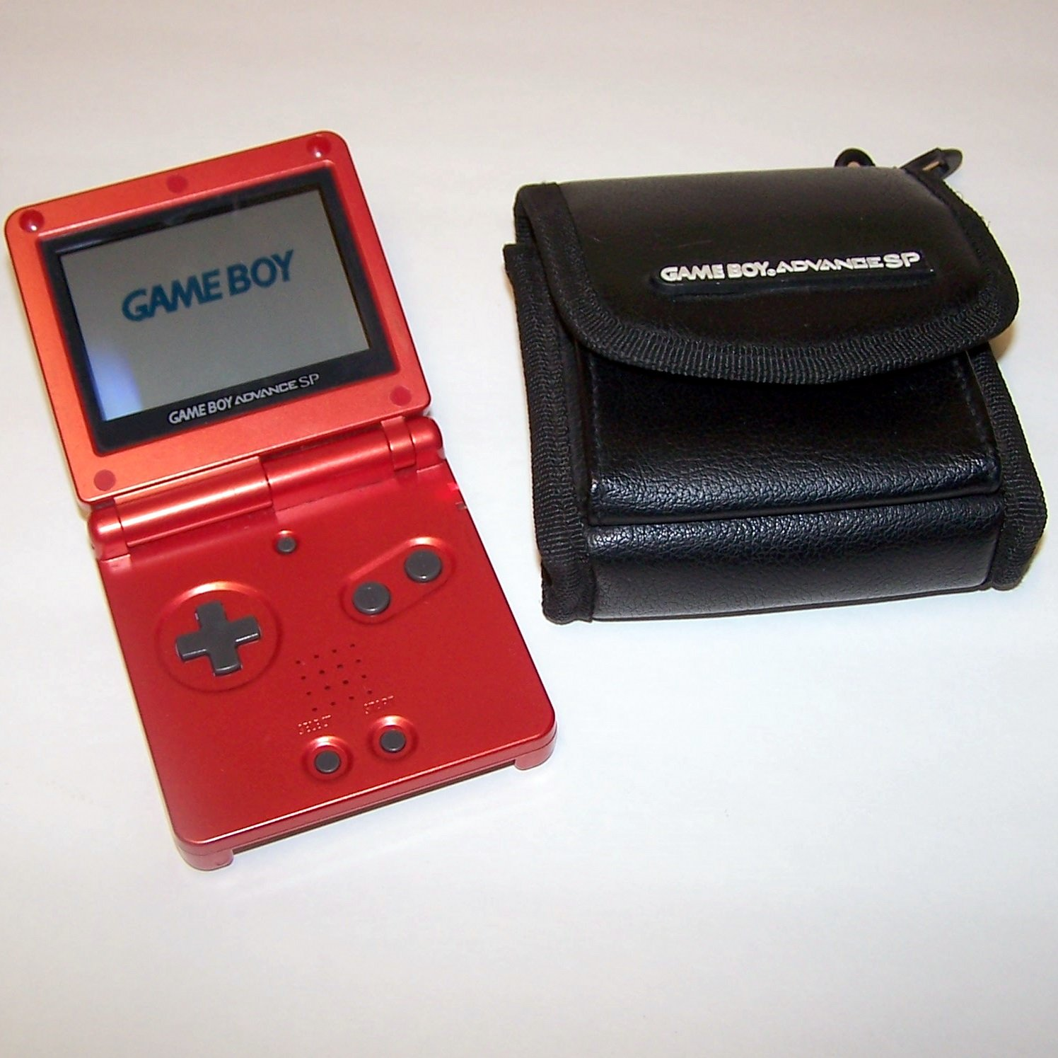 Nintendo Game Boy Advance SP FlameGBA SP