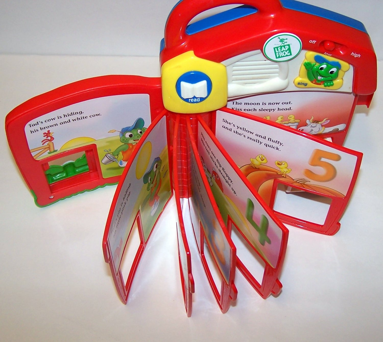 LeapFrog: Tad's Counting Farm Smart Block Book