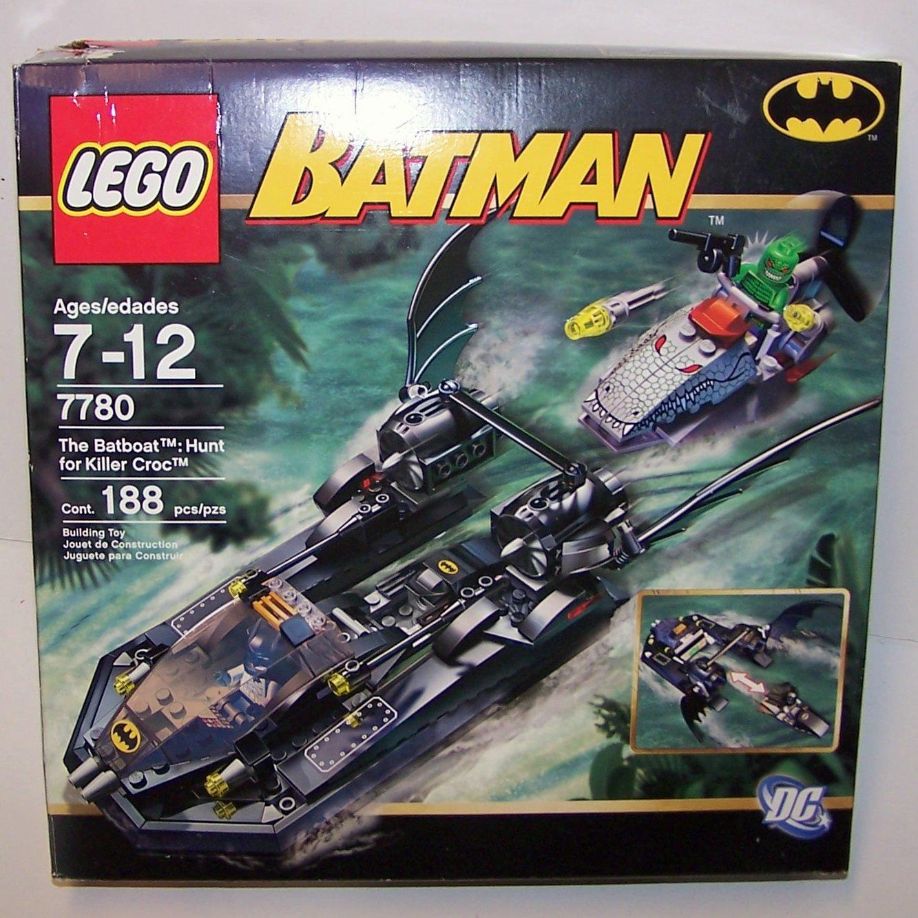 LEGO Batman Batboat - Hunt for Killer Croc #7780