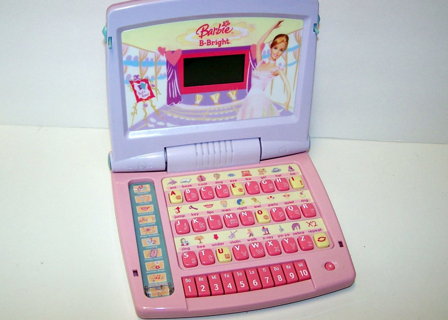 Barbie Ballet B-Bright EDUCATIONAL LEARNING Laptop