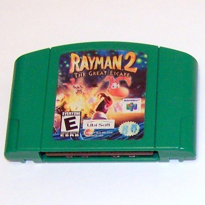 Rayman 2 The Great Escape Game Cartridge ~ N64 Nintendo 64