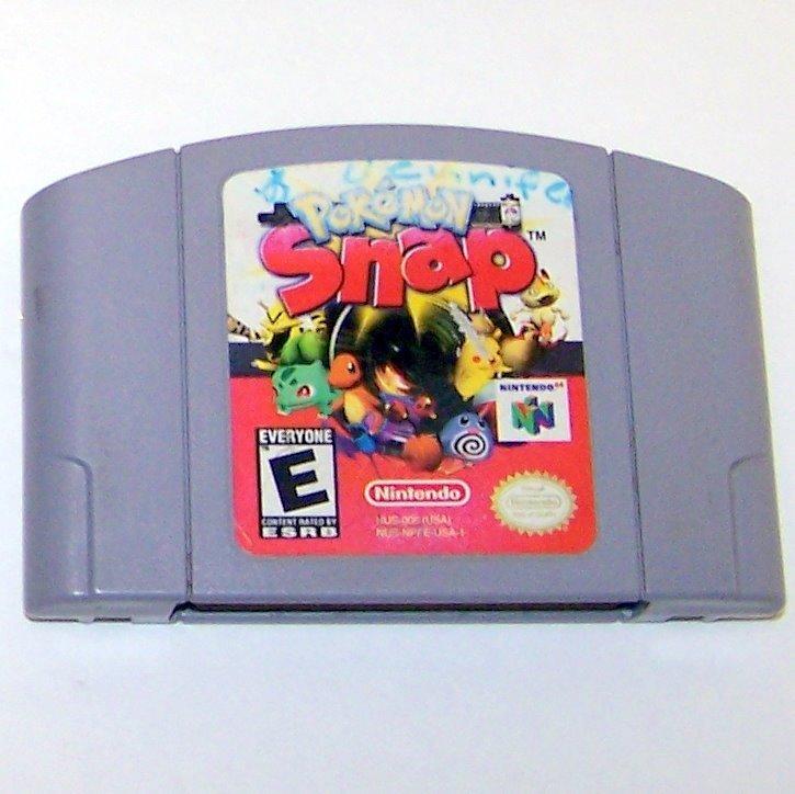 PokeMon Snap Game Cartridge and Instructions ~ N64 Nintendo 64