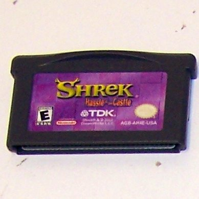 Shrek: Hassle at the Castle Nintendo Game boy Advance