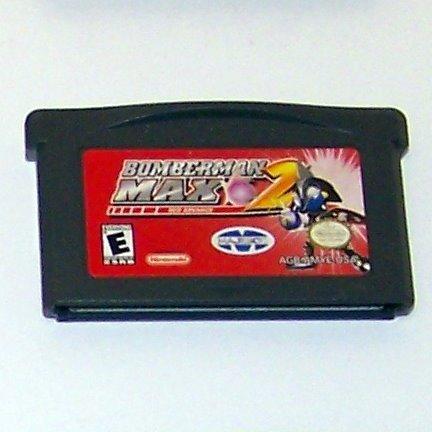 Bomberman 2 Max Red Advance Nintendo Game boy Advance cartridge
