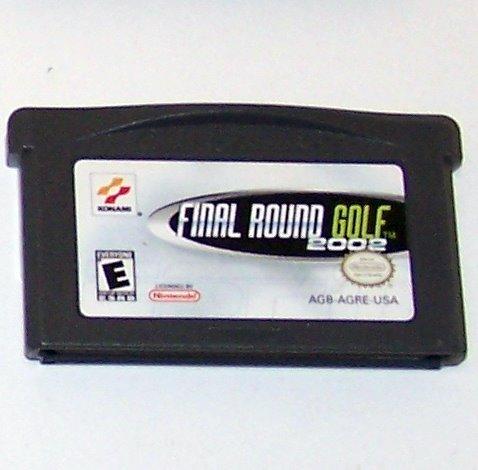 ESPN FINAL ROUND GOLF 2002 Nintendo Game boy Advance cartridge