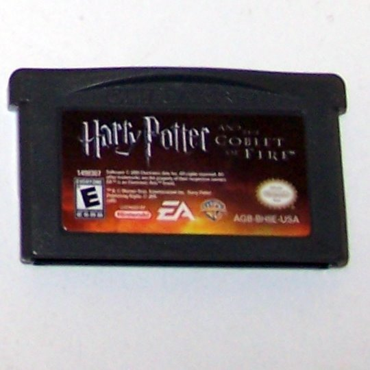 Harry Potter and the Goblet of Fire Nintendo Game boy Advance cartridge
