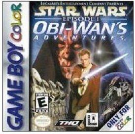 Star Wars Episode I: Obi Wan's Adventures Game boy Color cartridge