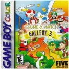 Game & Watch Gallery 3 Game boy Color cartridge