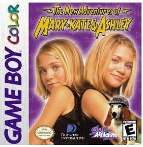 The New Adventures of Mary-Kate & Ashley Game boy Color cartridge