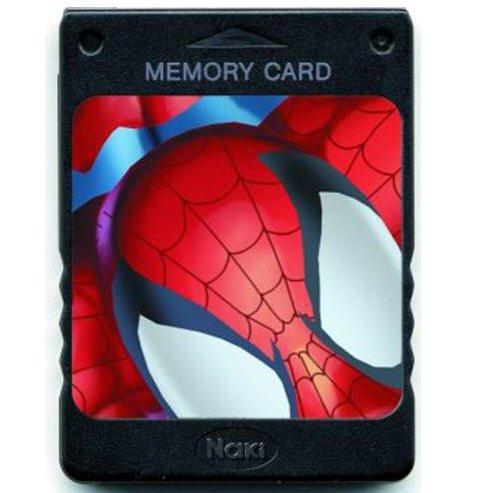 Naki Marvel Ultimate Spider-Man Super Hero Memory Card - Deco Playstation