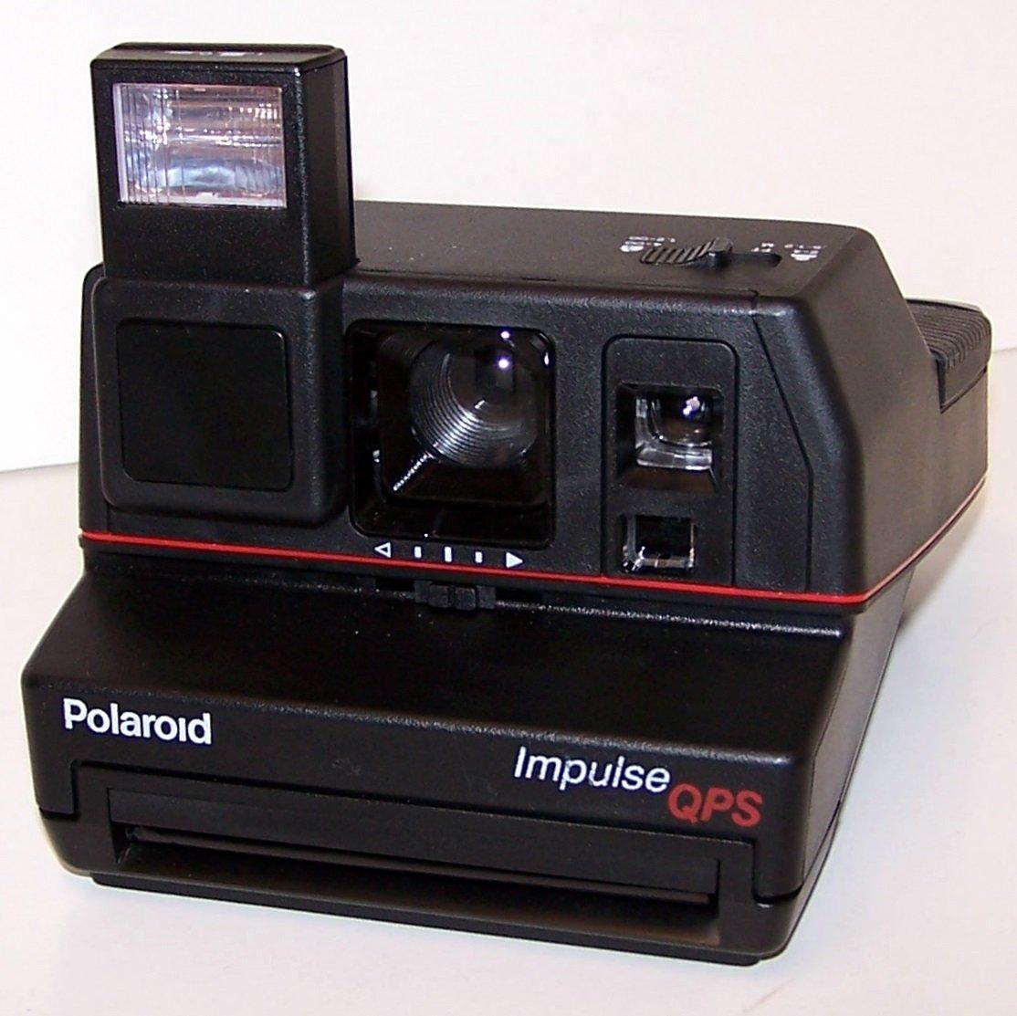 Polaroid Impulse QPS 600 Instant Film Camera