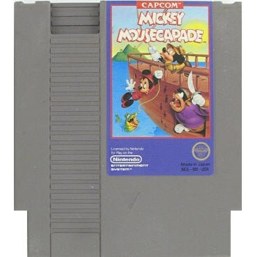 Mickey Mousecapade Original 8-bit Nintendo NES Game Cartridge