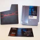 Total Recall Original 8-bit Nintendo NES Game Cartridge with instructions