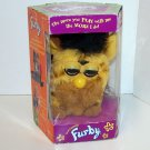 Furby Model 70-800 Yellow and brown spotted Black Mohawk Electronic Furbie