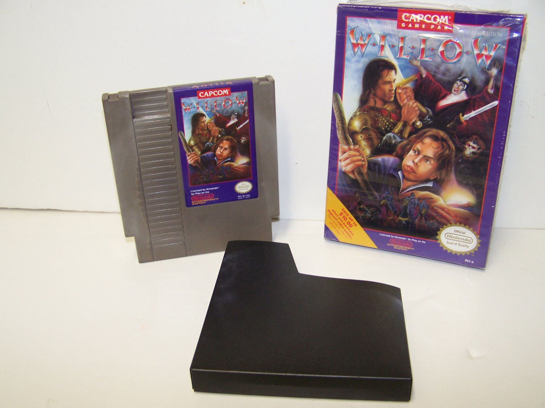 Willow ~ Original 8-bit Nintendo NES Game Cartridge with Box RESEALED