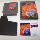 Joust Original Nintendo Nes Game Cartridge with Box and Instructions