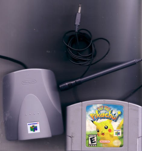 Hey You Pikachu 64 Game N64 Nintendo 64 Game Cartridge with Microphone