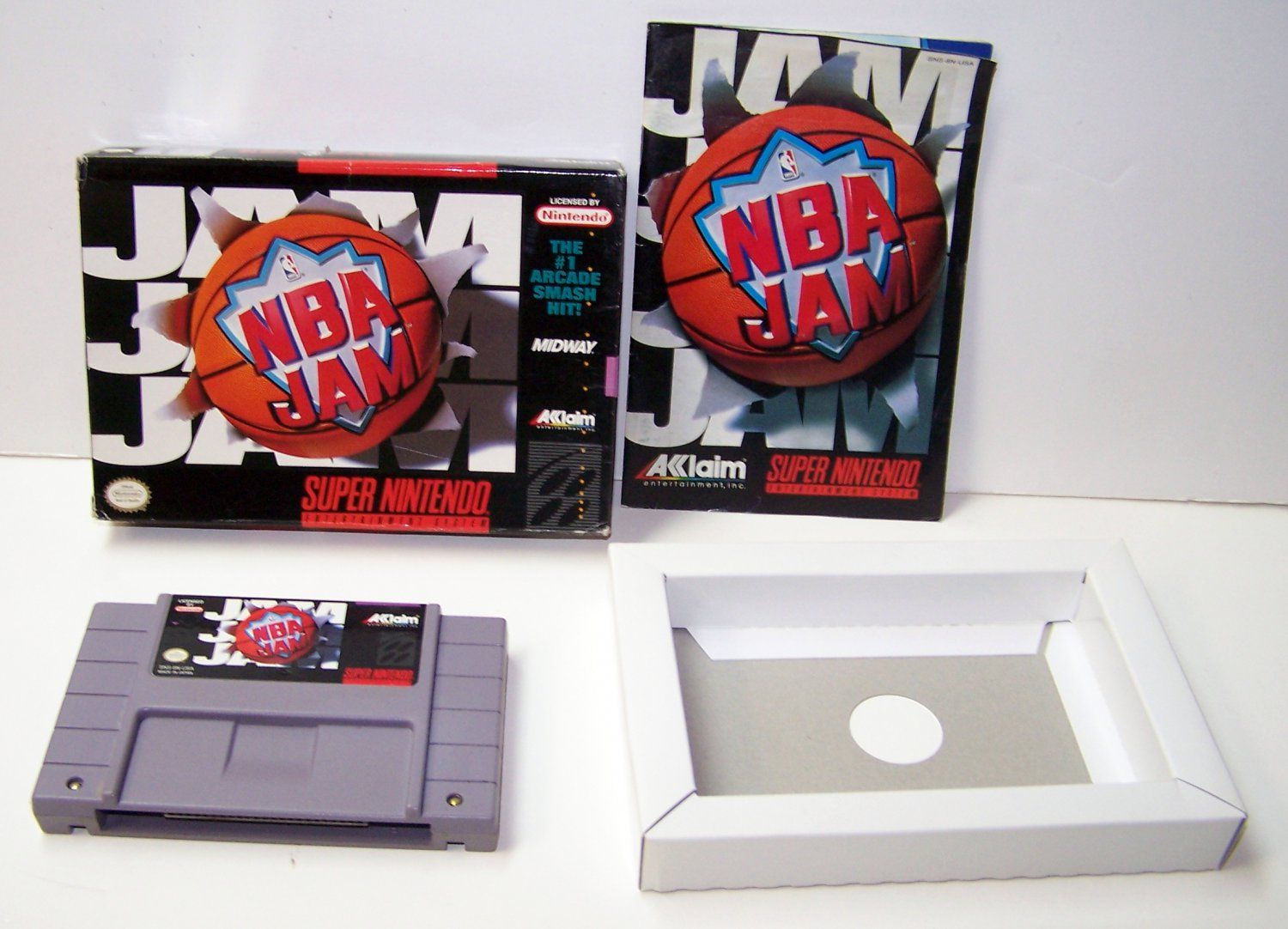 NBA Jam Super Nintendo Game