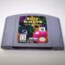 Bust-a-move 2 Arcade edition Nintendo 64 Game Cartridge  ~ N64