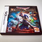 Mage Knight Destiny's Soldier Nintendo DS cartridge