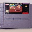 David Crane's Amazing Tennis Super Nintendo Game
