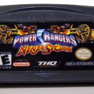 Power Rangers Ninja Storm Game boy Advance cartridge