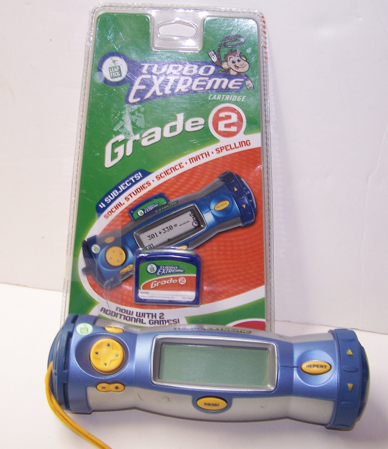 LeapFrog Turbo Extreme Handheld system  with Grade 2 Cartridge