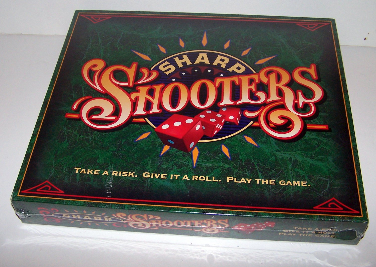 Sharp Shooters - Take a Risk. Give It a Roll. Play the Game Milton Bradley